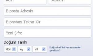 Facebook'a Kaydol – Hesap Aç
