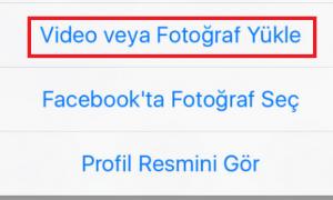 Facebook Profil Videosu Yapma