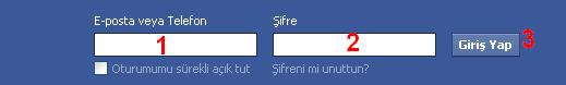 Facebook-Giris