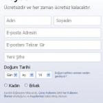 Facebook'a Kaydol – Facebook Hesap Açma
