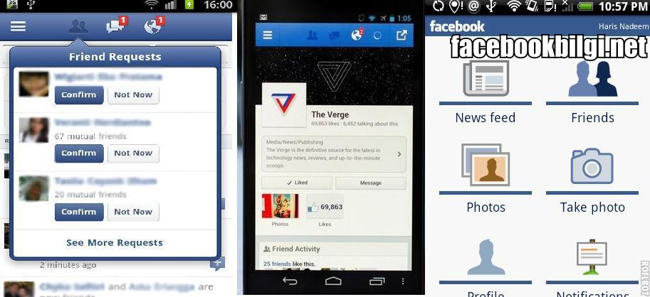 facebook-mobil-indir-android