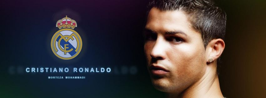 Cristiano Ronaldo Real Madrid Facebook foto