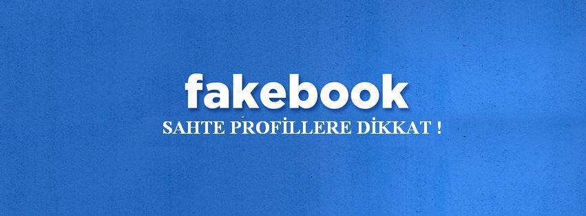 facebook sahte profiller