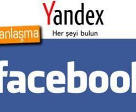 facebook ile yandex