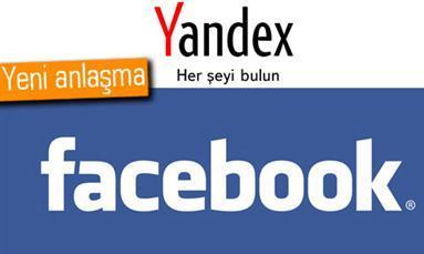 Facebook ve Yandex'ten İş Ortaklığı