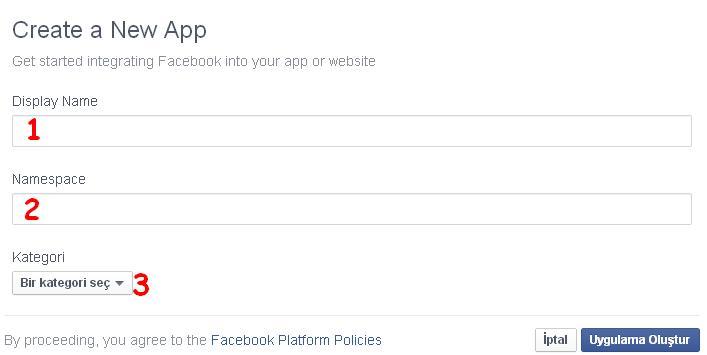 facebook kişisel sekme