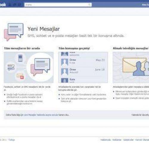 Facebook Uzantılı Mail Adresi Nasıl Alınır?