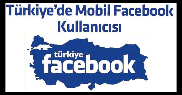 türkiye facebook mobil
